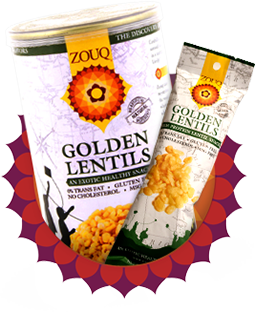 Zouq Golden Lentils-High Protein Lentils
