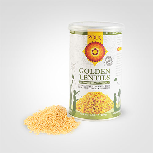 Zouq Golden Lentils Snacks