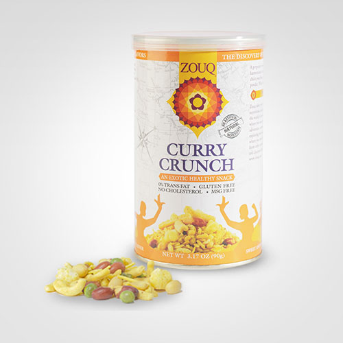 Zouq Curry Crunch Snacks