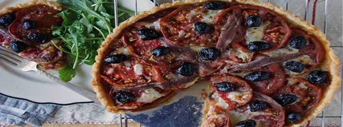 Zouq - Anchovies Pizza